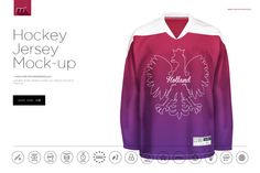 Hockey Jersey Mock-up by mesmeriseme.pro on Creative Market