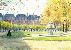 Paris «Place des Vosges»