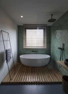 Frans Halsstraat Cantero Architecture: Completed in 2018 in Amsterdam, The Netherlands. Images by Luuk Smits. Renovation and interior design of the first floor of a traditional residential building located in de Pijp, a neighborhood in the center of… Large Bathrooms, Small Bathroom, Master Bathroom, Modern Bathrooms, Bathroom Ideas, Silver Bathroom, Brown Bathroom, Luxury Bathrooms, Bathroom Mirrors