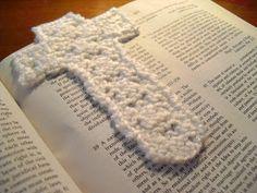 The Fuzzy Square: Cross Bookmark