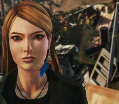 """Rachel Amber, the DA's daughter. Episode 3 """"Before the Storm"""" teaser. Rachel Amber, Rachel Life Is Strange, Life Is Strange Characters, Overwatch, Arcadia Bay, Dontnod Entertainment, Pete Burns, Blue Haired Girl, Fanart"""