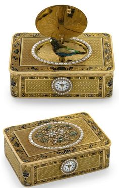 Frères Rochat singing bird boxes could hit the high notes in Geneva watch auction