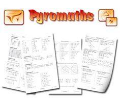 Pyromaths,un générateur d'exercices de mathématiques au format PDF