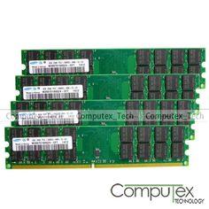 New Samsung 16GB 4x4GB PC2-6400 DDR2-800MHZ 240pin For AMD Desktop Memory RAM #Samsung