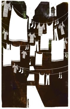 Laundry Day in the City