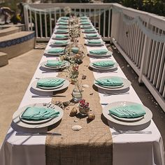 Real Weddings - In Bliss Weddings The welcome table at the reception was decorated with vases of seashells gerbera daisies and starfish all on a\u2026 & Real Weddings - In Bliss Weddings The welcome table at the reception ...