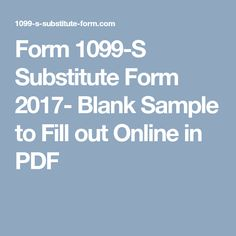 irs form 1099 s 2017 2018 pdf irs form 1099 s substitute form 2017