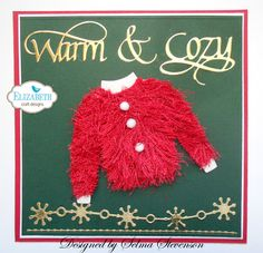 When it is cold  what is nicer than a nice warm sweater! I have been posting a lot of different sweaters I have created using Joset Des...