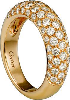 Classic Diamond ring Yellow gold, diamonds