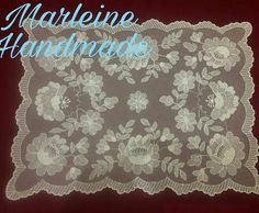 Needle Lace, Darning, Lace Flowers, Hand Embroidery, France, My Favorite Things, Crochet, Saddle Pads, Veils