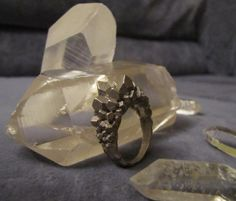 Crystal Ring size 7 by Eeppium