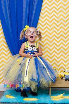 Despicable Me Minion Tutu Dress! YES!!!