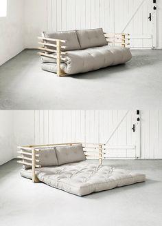 Bett Sofa Kombination : Erstmal aufs Sofa oder gleich ins Bett? Mit unserm Schlafsofa Karup ...