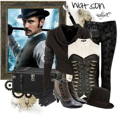 """""""Watson Inspired Outfit"""" by rubytyra on Polyvore"""