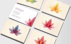 Tarjetas de Visita Holistic Lotus