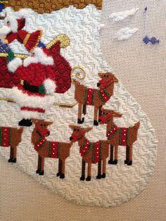 Eliz/Steph 3.0 needlepoint Christmas