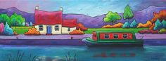 The Towpath by Gillian Mowbray