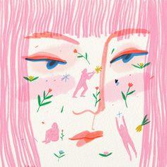 Building The Future Art Print by liviafalcaru - X-Small Art Sketches, Art Drawings, Arte Dope, Mark Ryden, Arte Sketchbook, Audrey Kawasaki, Guache, Amazing Drawings, Aesthetic Art