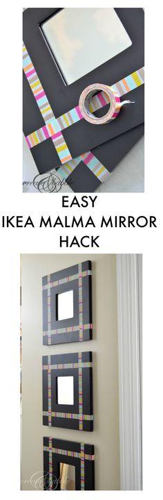 IKEA MALMA Mirror Hack
