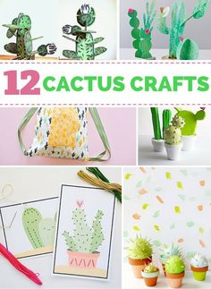 12 Utterly Cute Cactus Crafts for Kids.