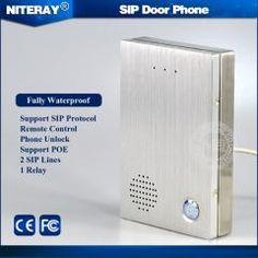 11 best audio door phones images access control, control system[ $23 off ] sip door intercom doorbell for entrance door security support talking with visitors