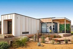 Ideas Container House Australia Architecture for Twelve of the best modular and prefab creations - Renew Architecture Durable, Asian Architecture, Sustainable Architecture, Architecture Design, Architecture Courtyard, Residential Architecture, Landscape Architecture, Prefab Modular Homes, Prefabricated Houses