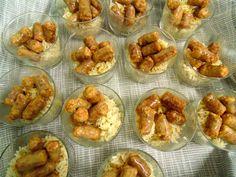 lady and chef Silvana & ottime salsicce con il sentore di cannella accompagnate dal riso pilaff  FVG