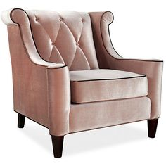 This modern velvet chair offers fantastic comfort with a refined sense of style. Caramel velvet fabric and an espresso-finished frame complement each other perfectly, while a firm cushion and a button-tufted, diamond-patterned back offer great support.