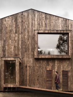 Interesting wood facade. What do you think?
