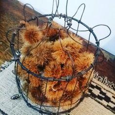 Wire. Cesta rustica by monica soria