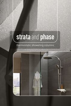 Proudly introducing Strata and Phase - new thermostatic showering solutions from Vado British Bathroom, Shower Fittings, Bathrooms, Toilets, Bathroom, Bathing