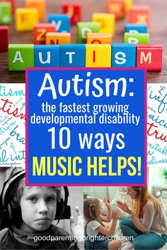 Powerful Ways Music Helps Children with Autism Music Activities For Kids, Brain Activities, Music For Kids, Infant Activities, Children Music, Anxiety In Children, Autistic Children, Children With Autism, Music Education