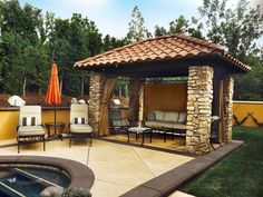 Cabana poolside!  Dine, relax, swim, & enjoy!