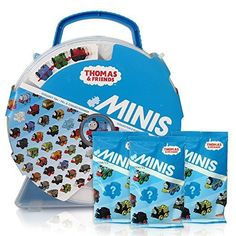 THomas  Friends Minis Collectors Playwheel Storage Case includes Mini Golden Thomas and 3 Packs of Blinds ** Find out more about the great product at the image link.