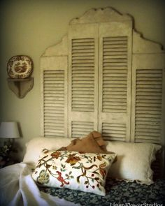 Modify for outdoors and add wrought iron to top piece of shutter