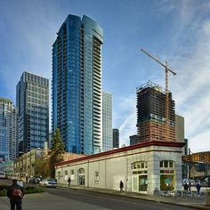 Check out Very Vertical Seattle in this month's Online Extras. http://www.seattletimes.com/pacific-nw-magazine/very-vertical-seattle-the-city-builds-up-to-create-more-homes-downtown/ #seattle #washington #skyscrapers #downtown #elevators #onlineextras