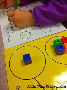 Little Miss Kindergarten - Lessons from the Little Red Schoolhouse!: Decomposing Numbers!