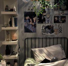 Room Design Bedroom, Room Ideas Bedroom, Bedroom Decor, Bedroom Inspo, Indie Room, Pretty Room, Aesthetic Room Decor, Dream Rooms, Cool Rooms
