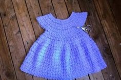 Robe au crochet simple tuto