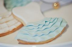 Ballerina Party - cute way to decorate sugar cookies