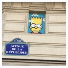 M.Simpson ❤️ Space Invader
