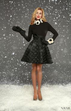Джерси платье NAUMI WF15 J014 чёрный
