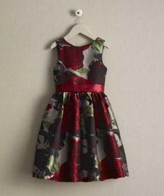 girls rose dress