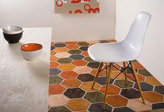 Quarry And Terracotta Ceramica Ellas Millenium Floor Tiles From The Wellington Tile Company