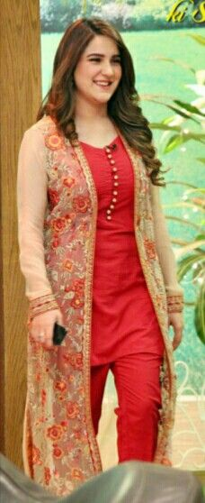 Women jacket over women traditional suit Long jacket over suit Pakistani Frocks, Pakistani Formal Dresses, Pakistani Fashion Casual, Pakistani Wedding Outfits, Pakistani Dress Design, Indian Outfits, Indian Fashion, Pakistani Couture, Indian Clothes