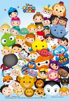 Disney Tsum Tsum puzzle:)