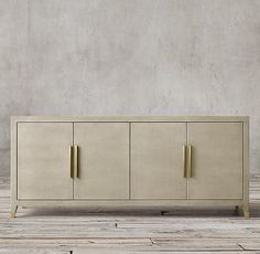 Graydon Shagreen Panel 4-Door Sideboard