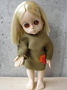 Little Miss No Name - I loved her, but my family all thought she was creepy.