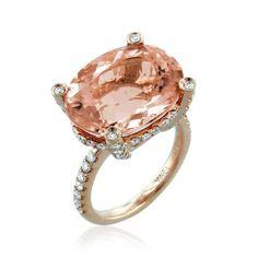 76efbdbfab3 City - Sunrise Morganite - Collections - FINE JEWELRY  FineJewelryRingsGold   FineJewelryNecklaceHarryWinston Gemstone Jewelry