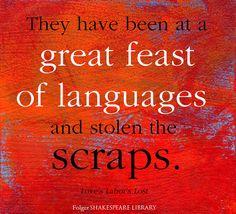 Find this #Shakespeare quote from Love's Labor's Lost at folgerdigitaltexts.org #FolgerDigitalTexts